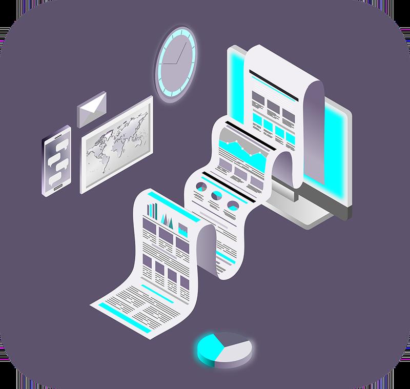 маркетинг канали - анимирано изображение