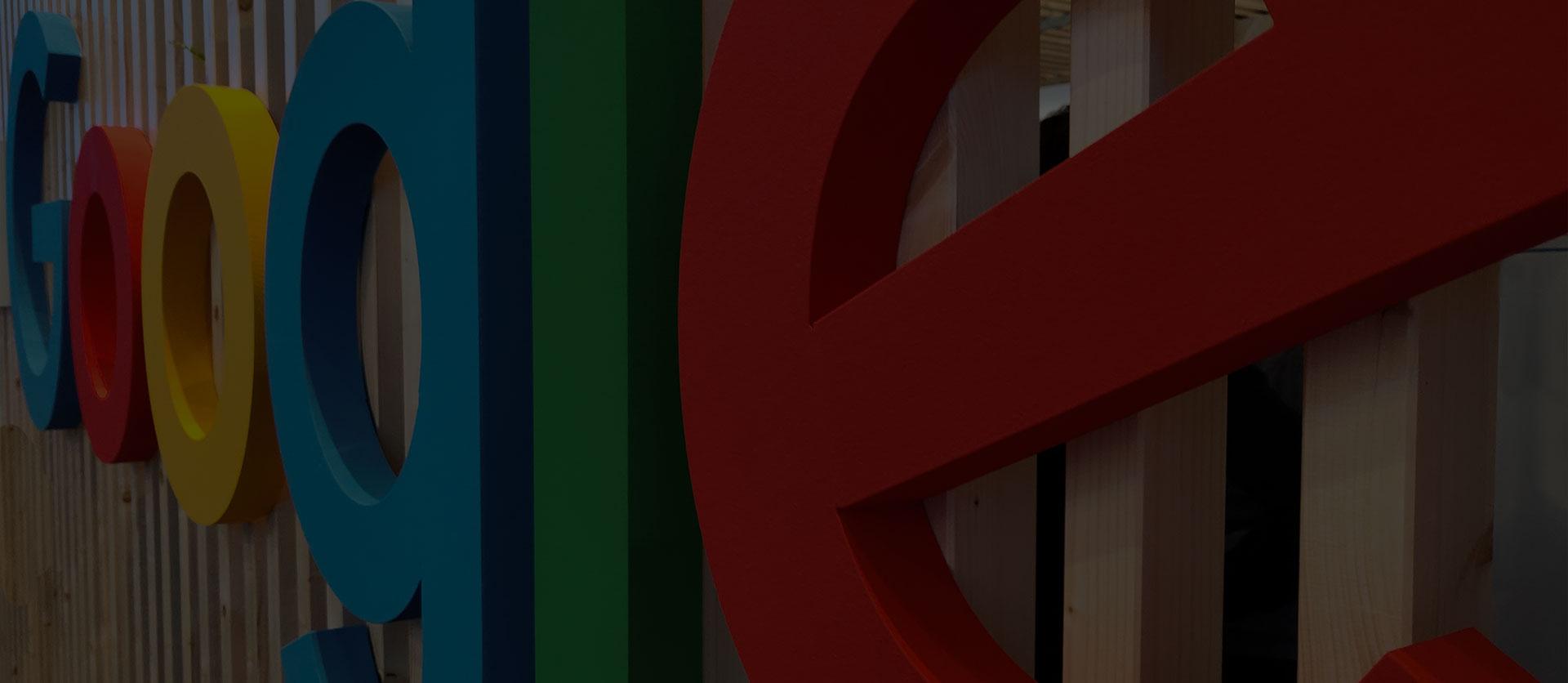 снимка за фон с логото на Google
