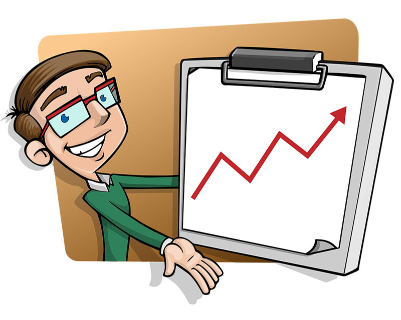 анимирано изображение за услугата маркетинг стратегия